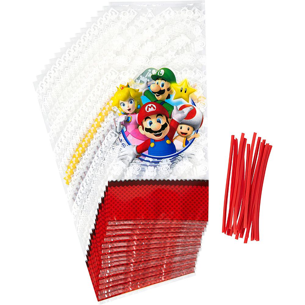 Wilton Super Mario Treat Bags 16ct Image #1
