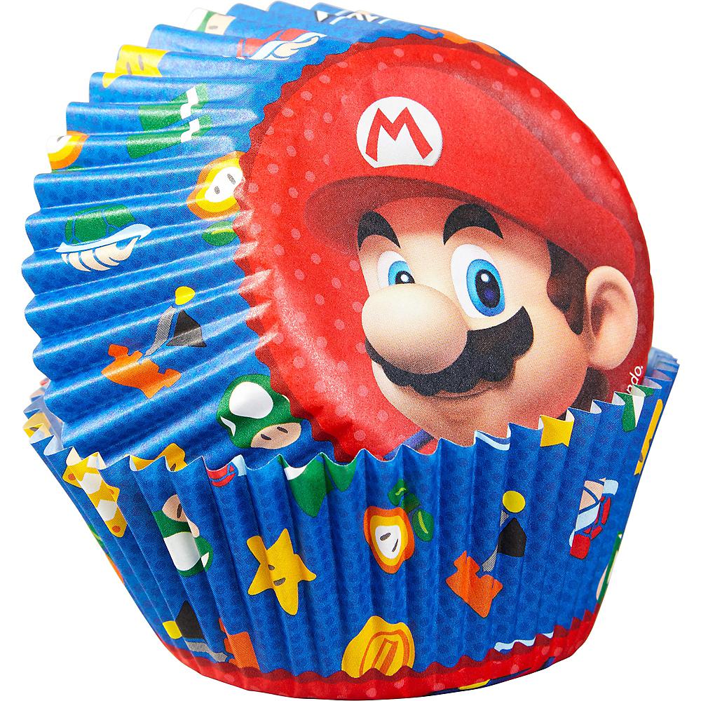 Wilton Super Mario Baking Cups 50ct Image #1