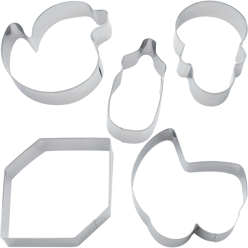 Baby Cookie Cutters 5ct Image #1