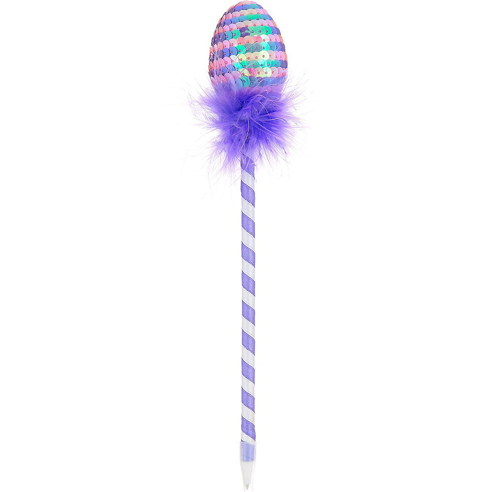 Purple Chevron Easter Egg Pen Image #1