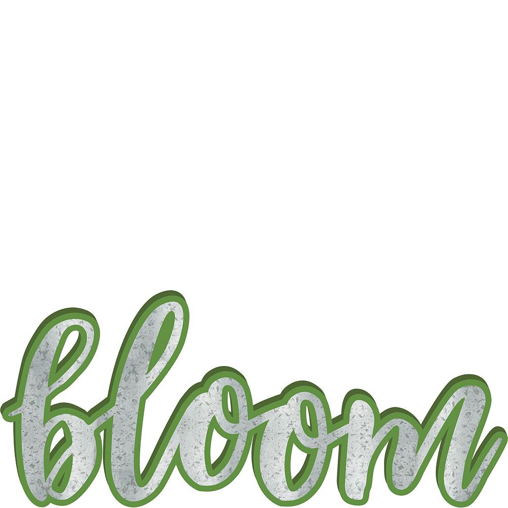 Bloom Block Letter Sign Image #1