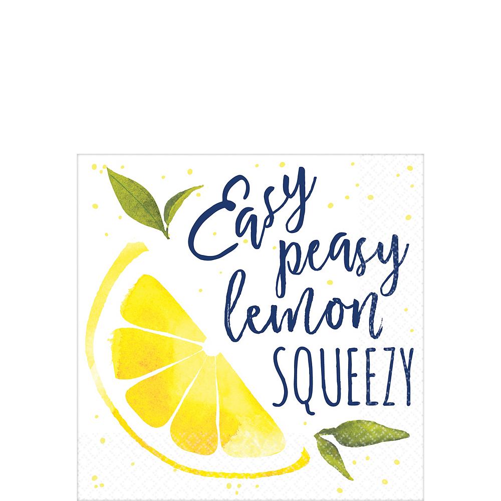 Lemon Squeezy Beverage Napkins 16ct Image #1