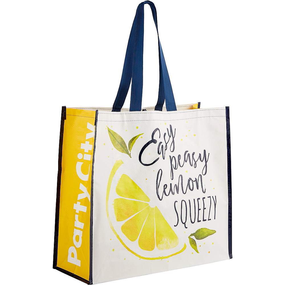 Nav Item for Easy Peasy Lemon Squeezy Tote Bag Image #1
