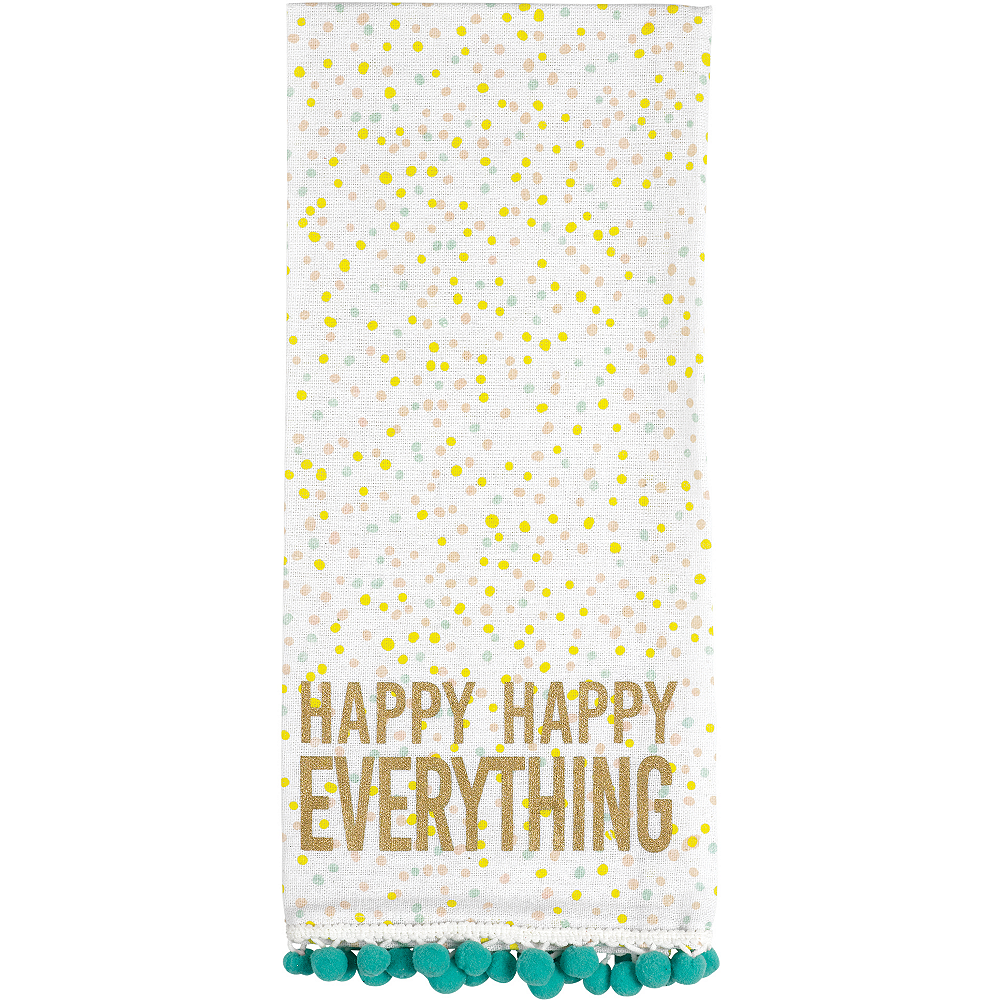 Happy Spring Kitchen Towels 2ct Image #2