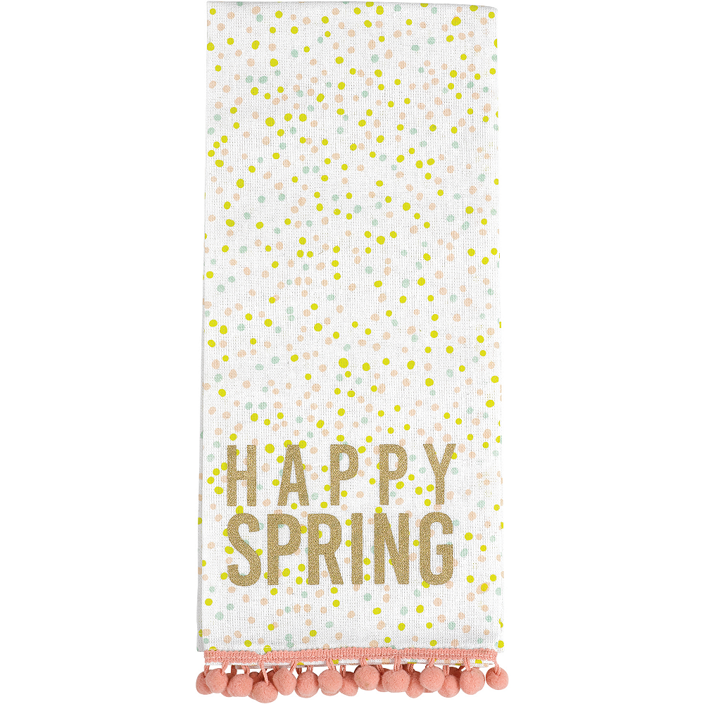 Happy Spring Kitchen Towels 2ct Image #3