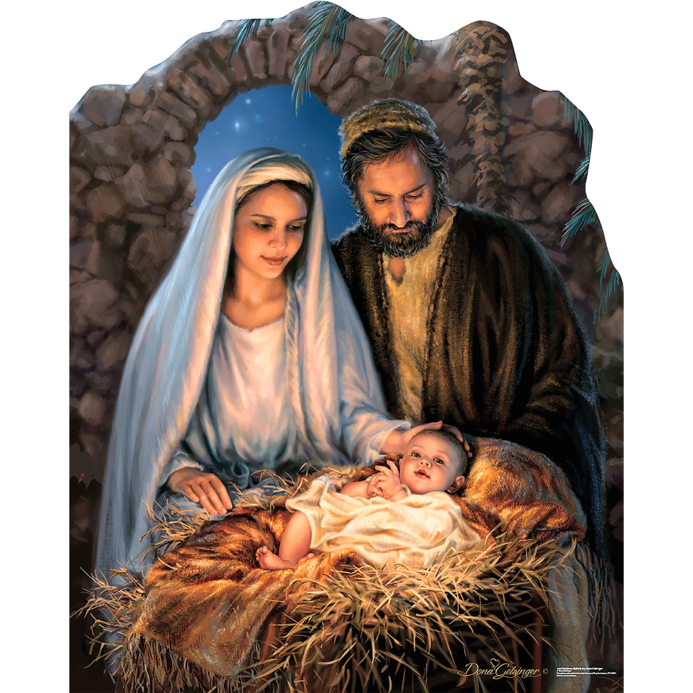 Christmas Nativity Standee Image #1