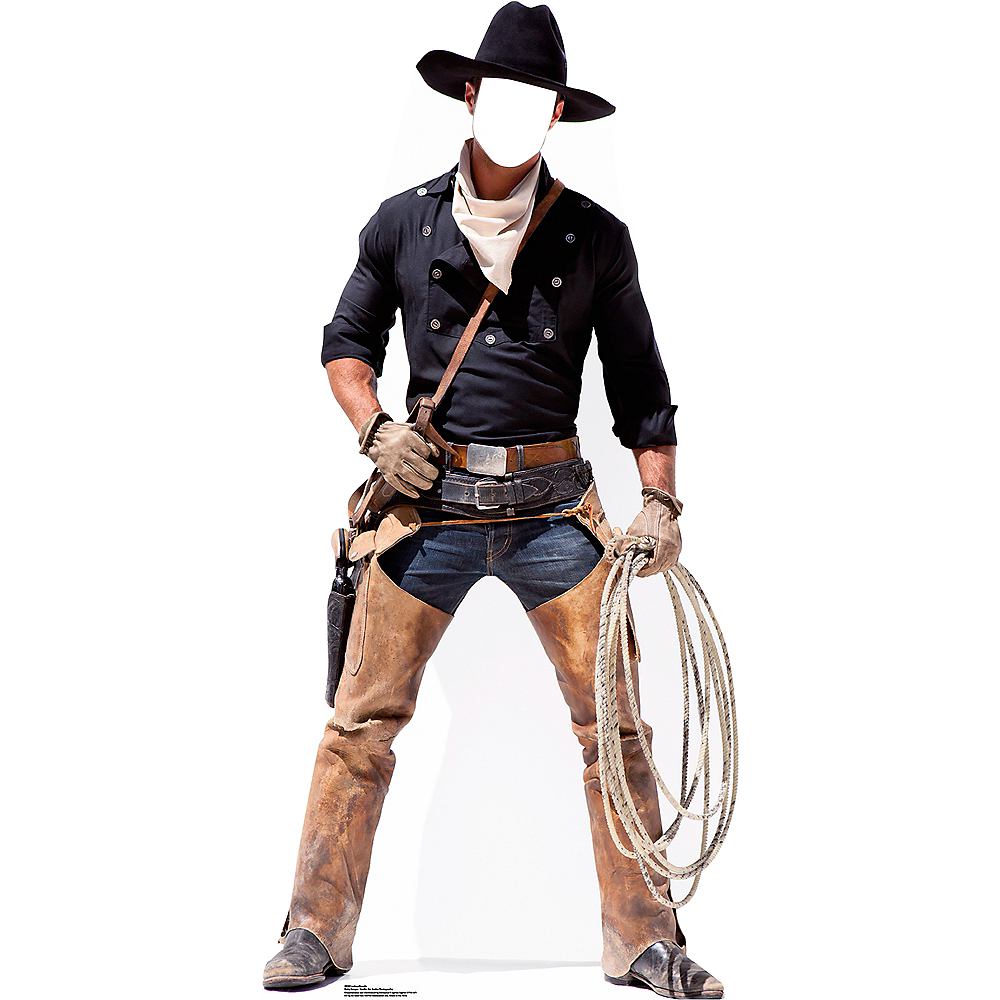 Cowboy Life-Size Photo Cardboard Cutout Image #1