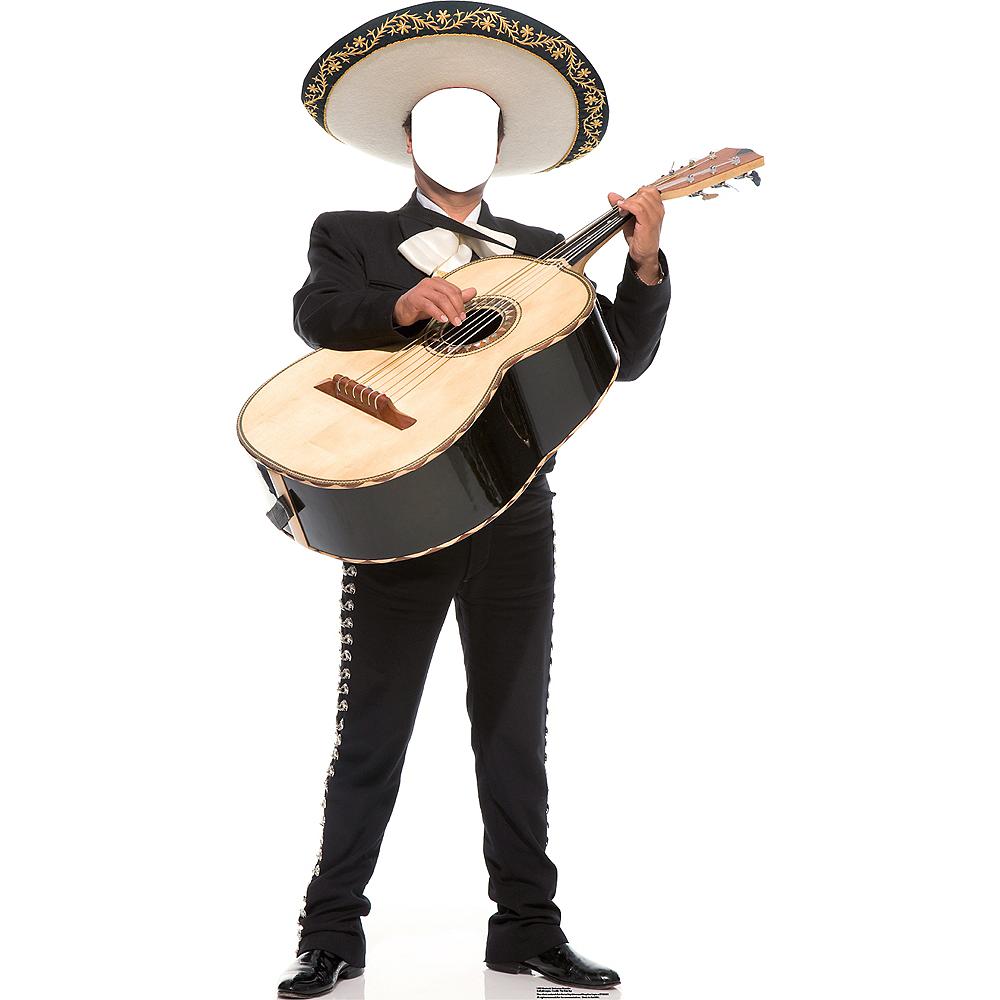 Mariachi Guitar Player Life-Size Photo Cardboard Cutout Image #1