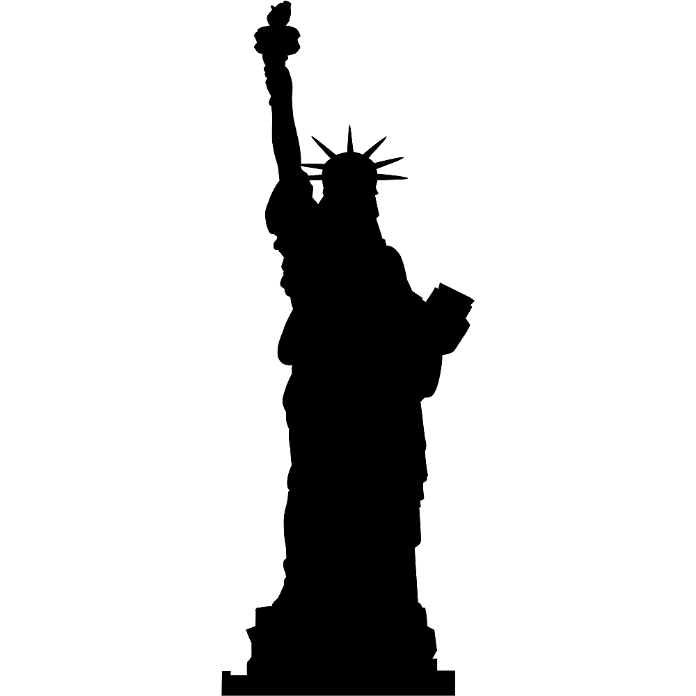 Statue of Liberty Silhouette Standee Image #1