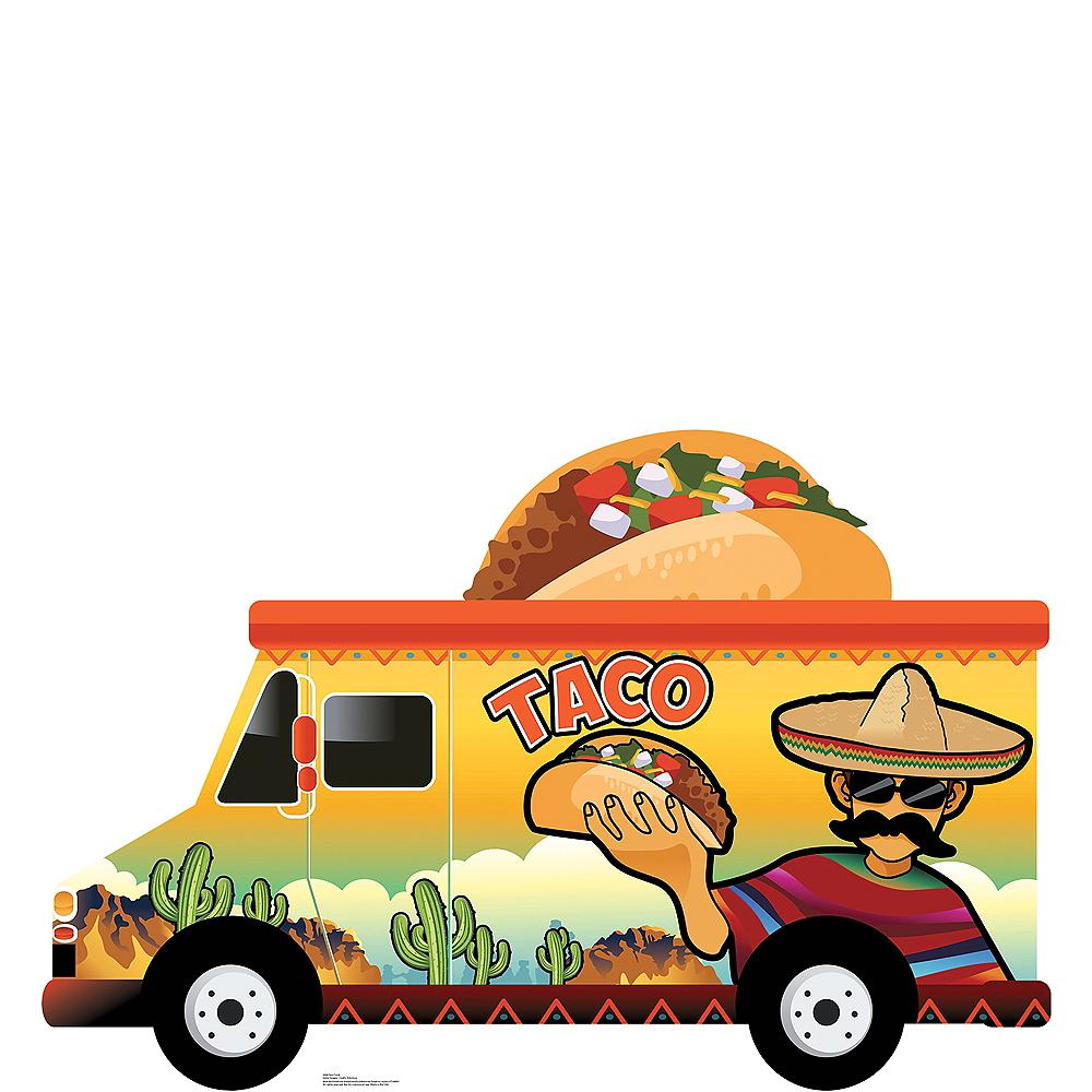 Taco Truck Photo Standee Image #1