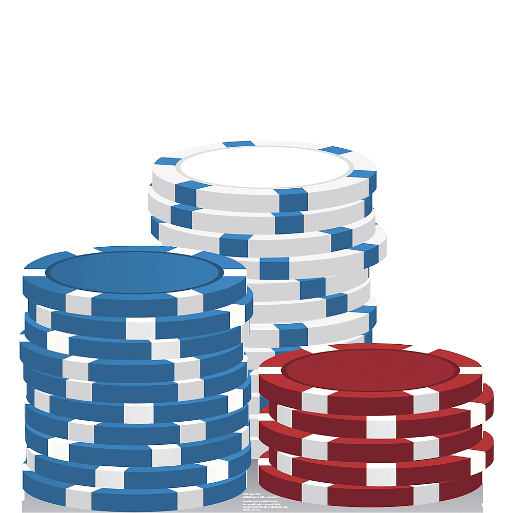 Vegas Chips Standee Image #1