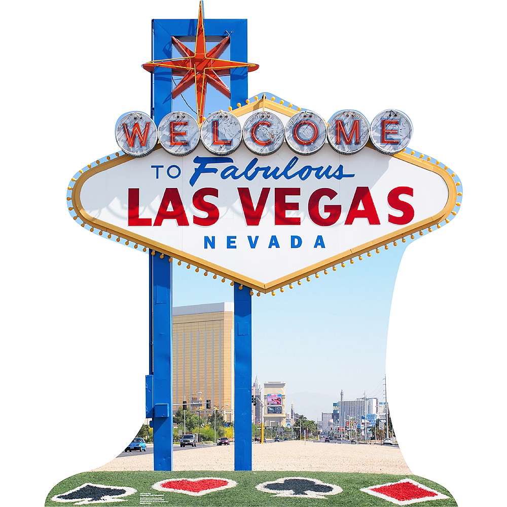 Nav Item for Vegas Sign Standee Image #1