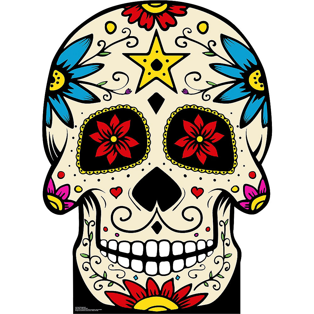 Day of the Dead Skull Standee Image #1