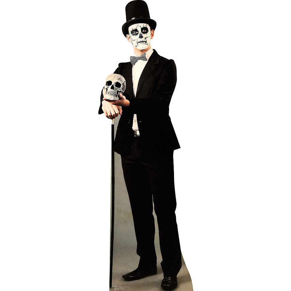 Day of the Dead Man Life-Size Cardboard Cutout Image #1