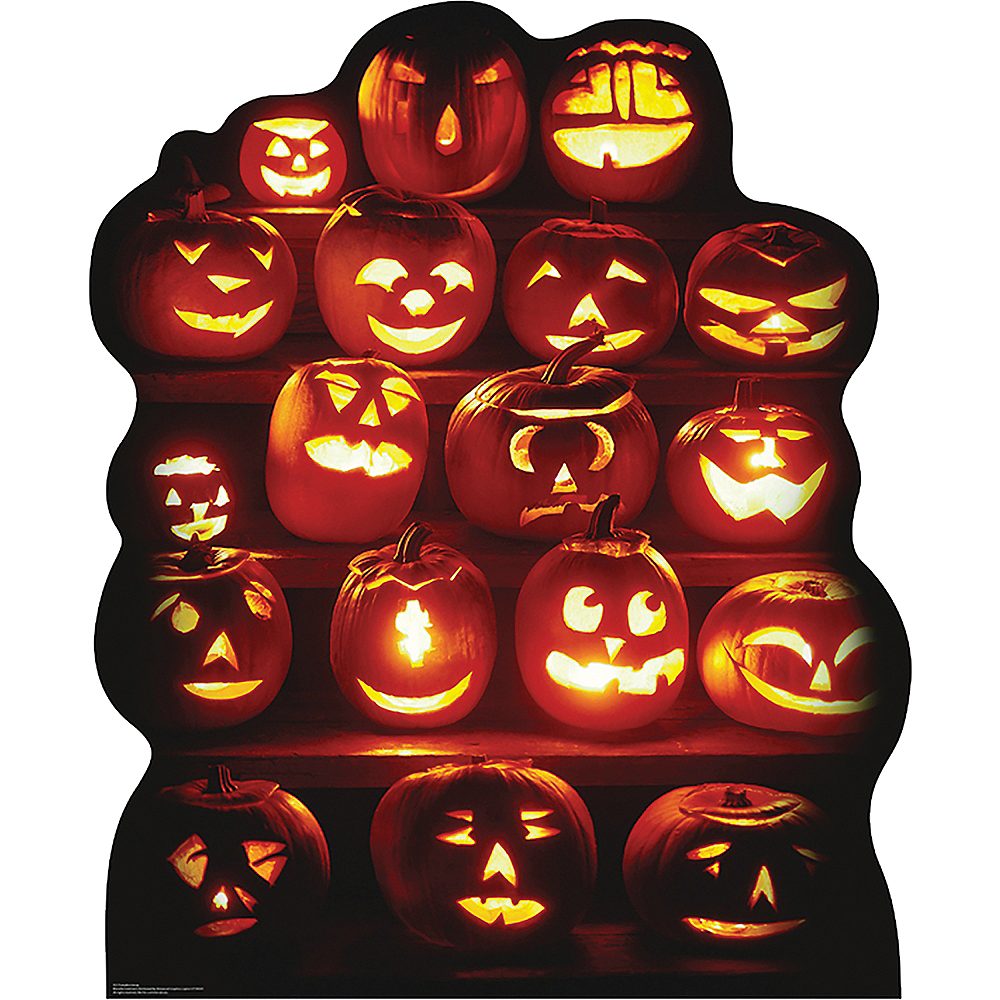 Pumpkin Patch Standee 44in x 54in | Party City