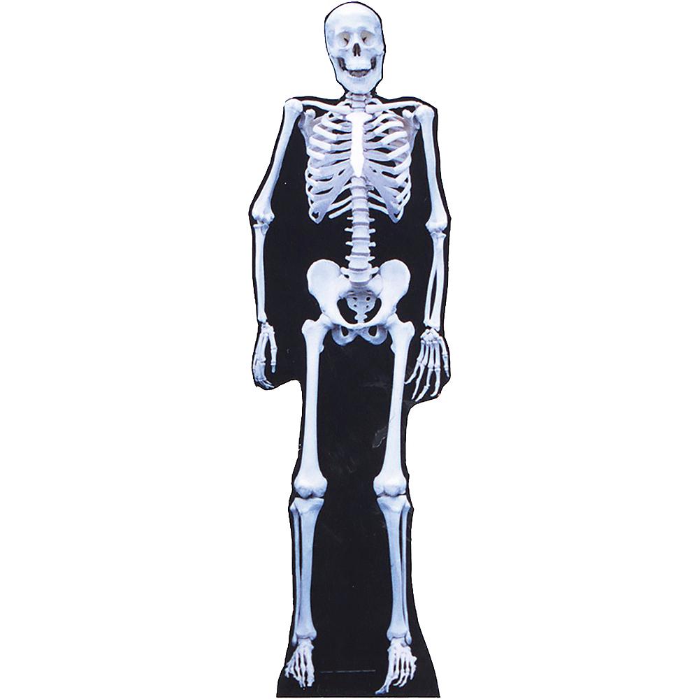Skeleton Life-Size Cardboard Cutout Image #1
