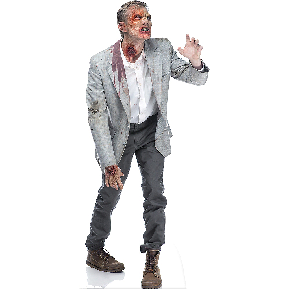 Grabbing Zombie Life-Size Cardboard Cutout Image #1