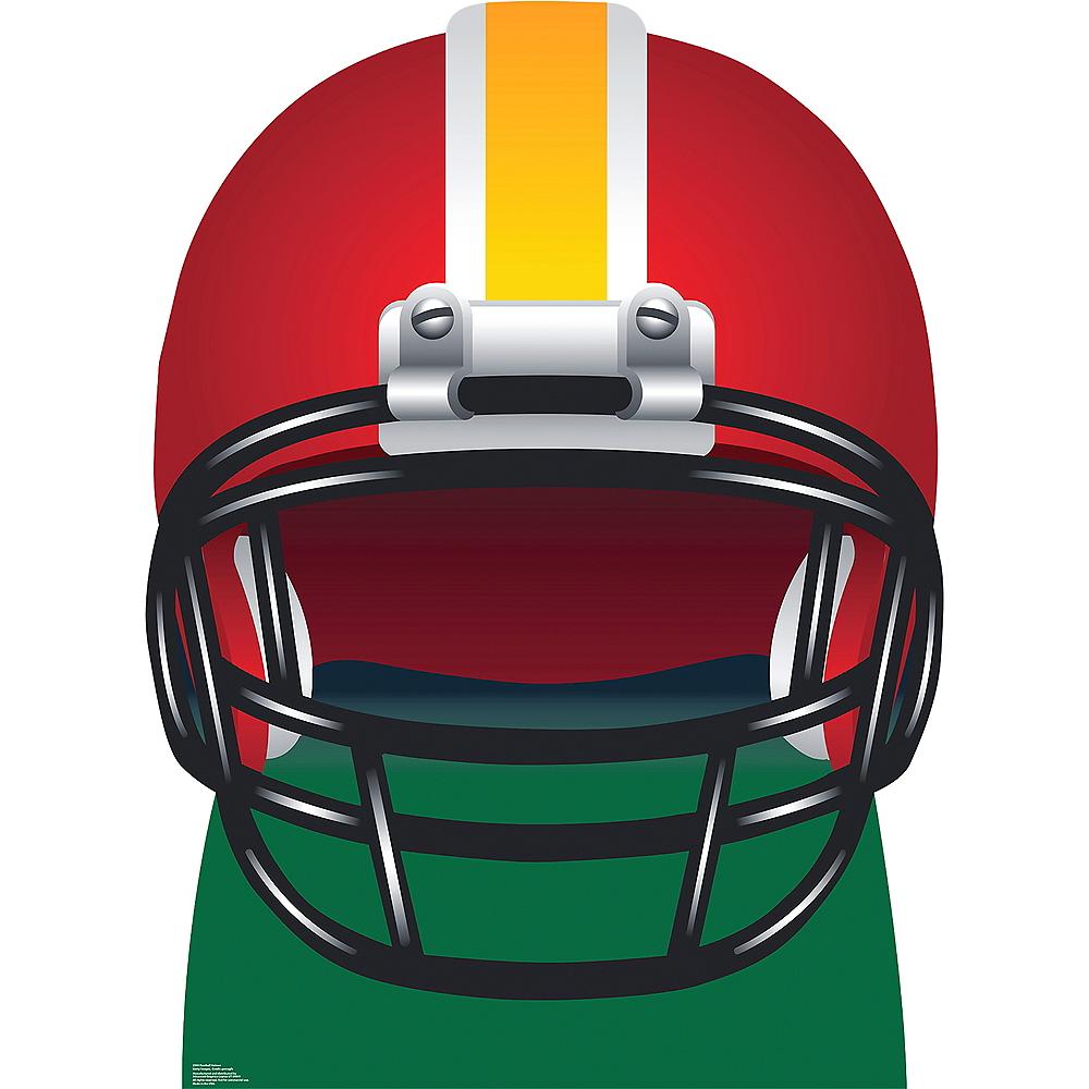 Football Helmet Standee Image #1