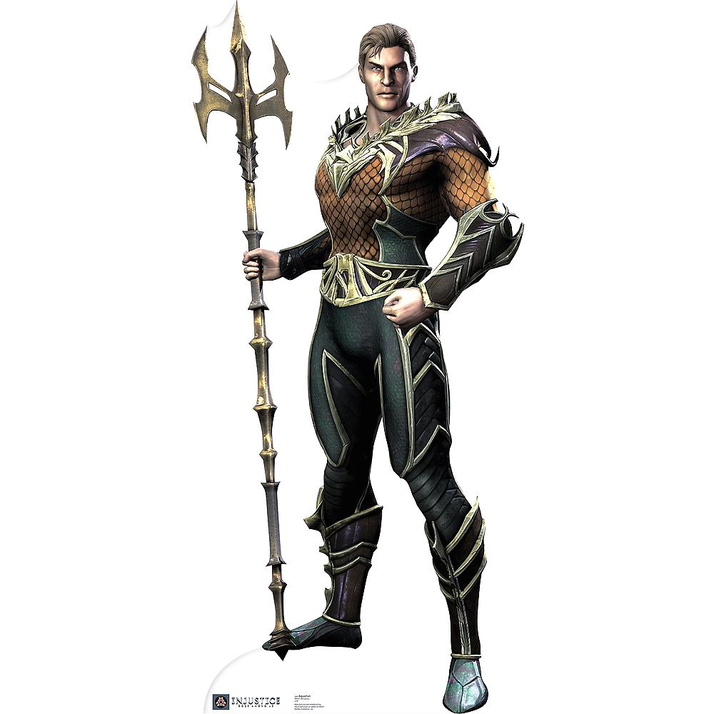 Aquaman Life-Size Cardboard Cutout - Injustice: Gods Among Us Image #1