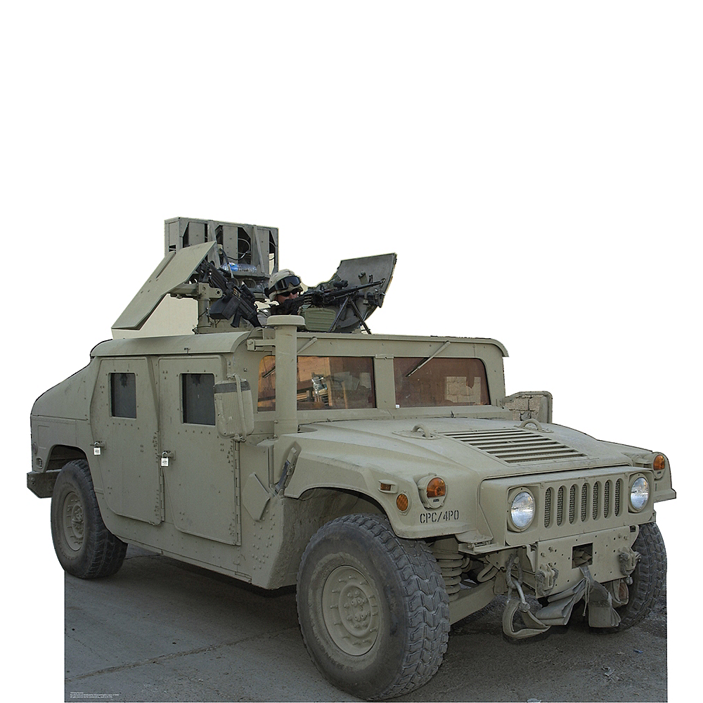 Army Hummer Standee Image #1