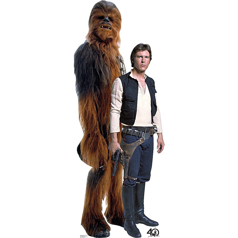 Han Solo & Chewbacca Life-Size Cardboard Cutout - Star Wars Image #1