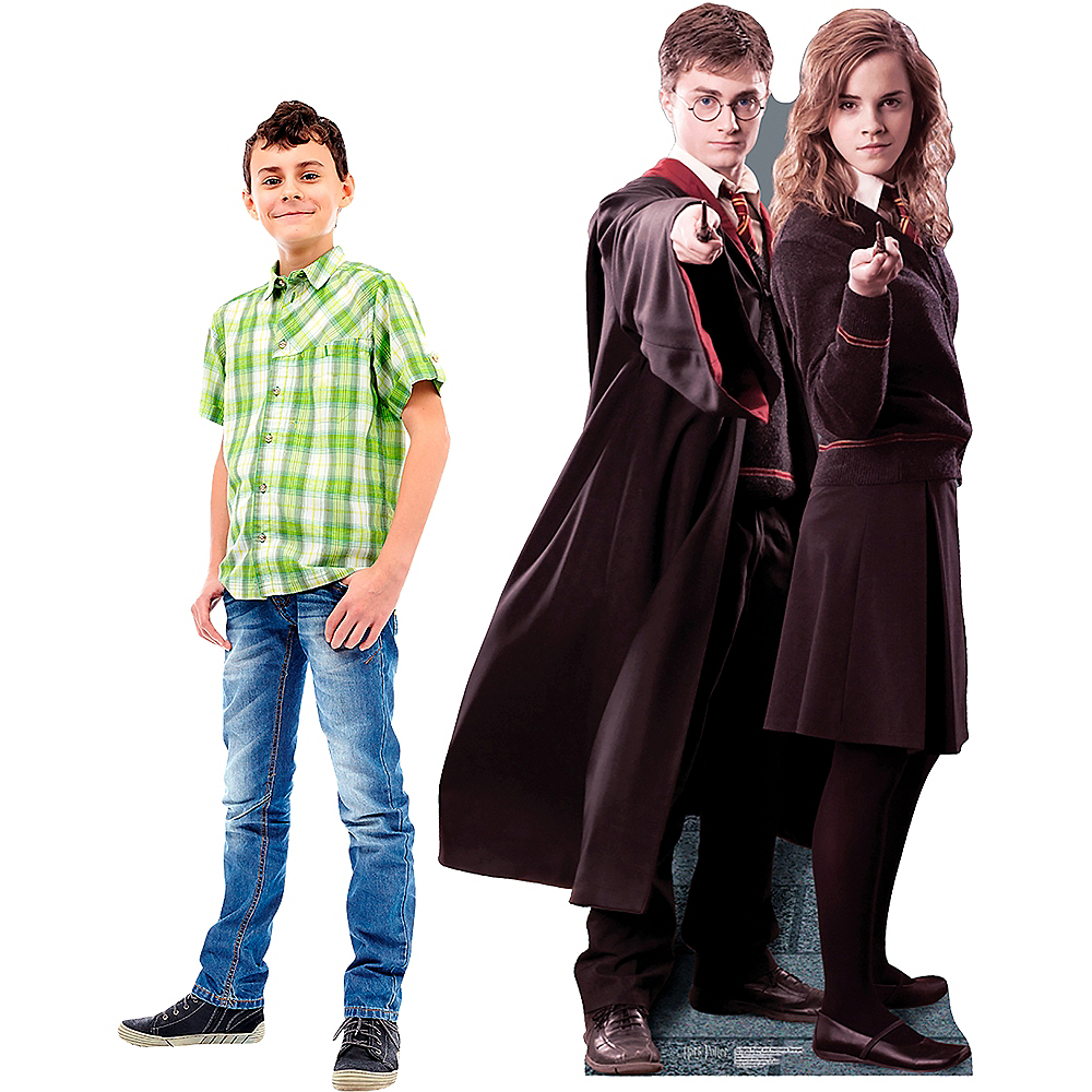 Harry Potter & Hermione Granger Life-Size Cardboard Cutout Image #2