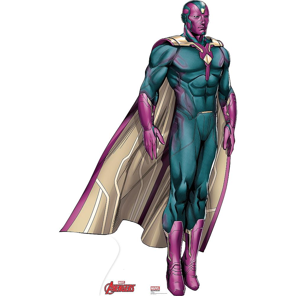 Vision Life-Size Cardboard Cutout - Avengers Image #1