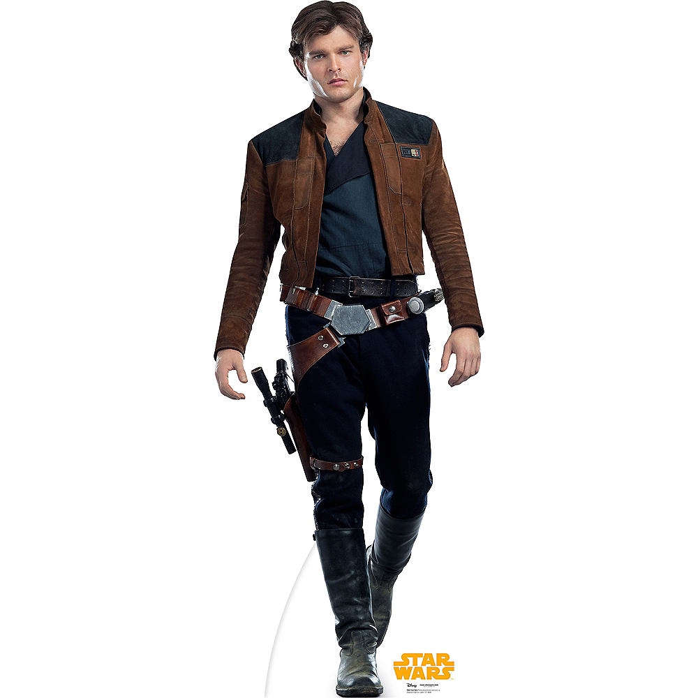 Han Solo Life-Size Cardboard Cutout - Solo: A Star Wars Story Image #1