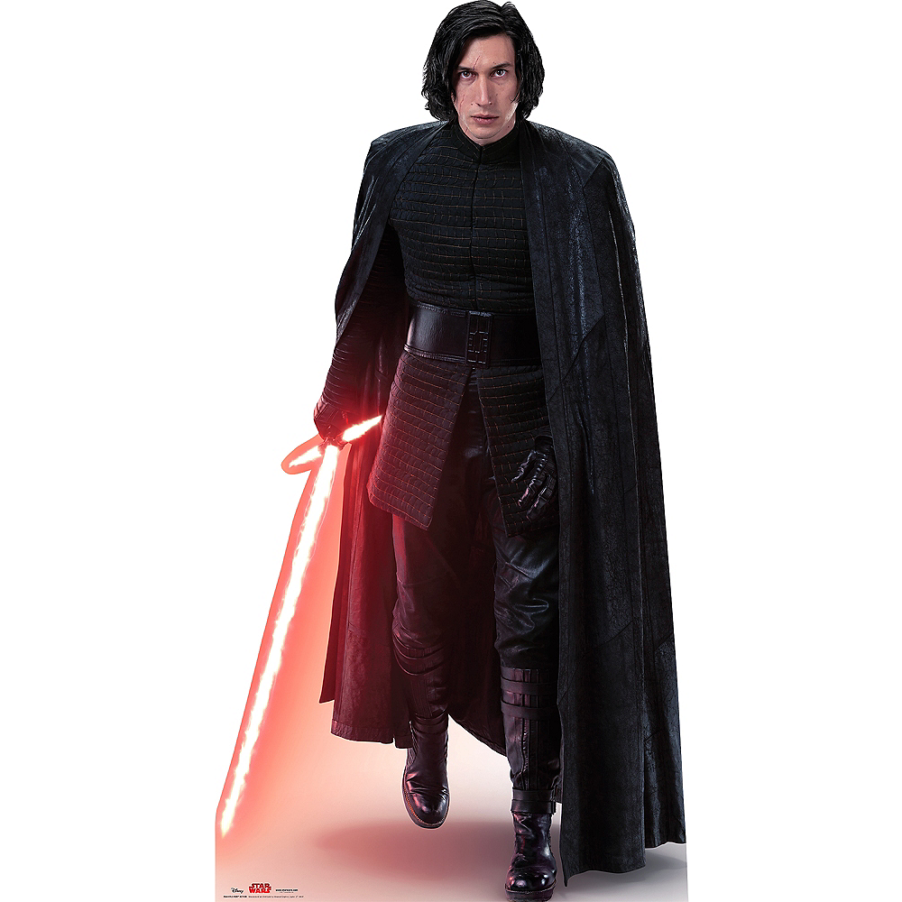 Nav Item for Kylo Ren Life-Size Cardboard Cutout - Star Wars 8: The Last Jedi Image #1