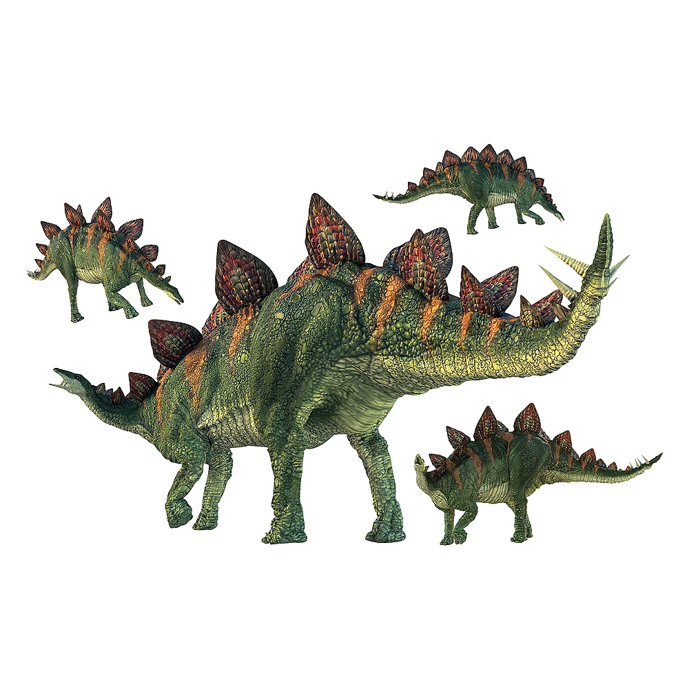 Stegosaurus Wall Decals 5ct Image #1