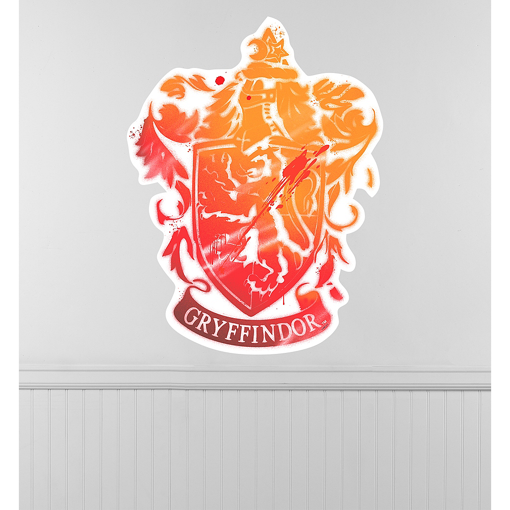 Gryffindor Crest Wall Decal Image #1