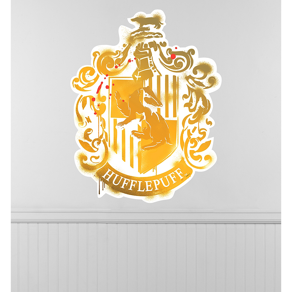 Hufflepuff Crest Wall Decal Image #1