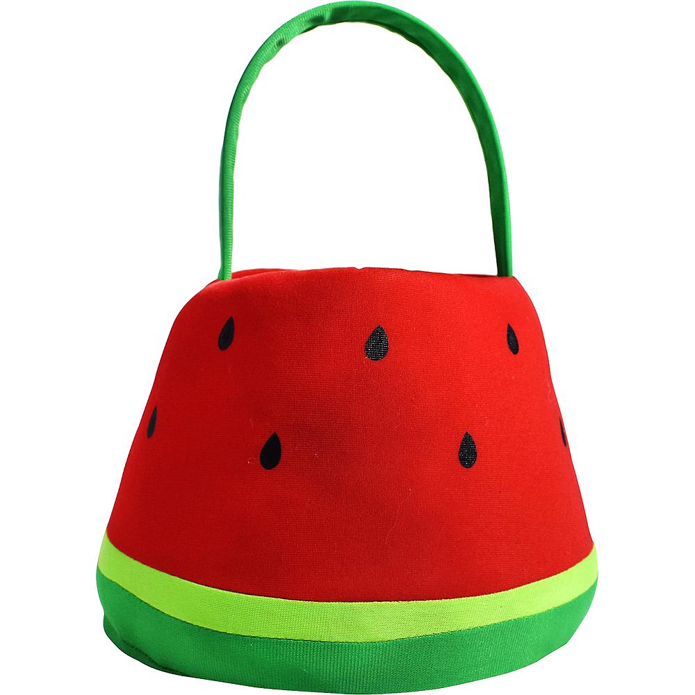 Plush Watermelon Easter Basket Image #1