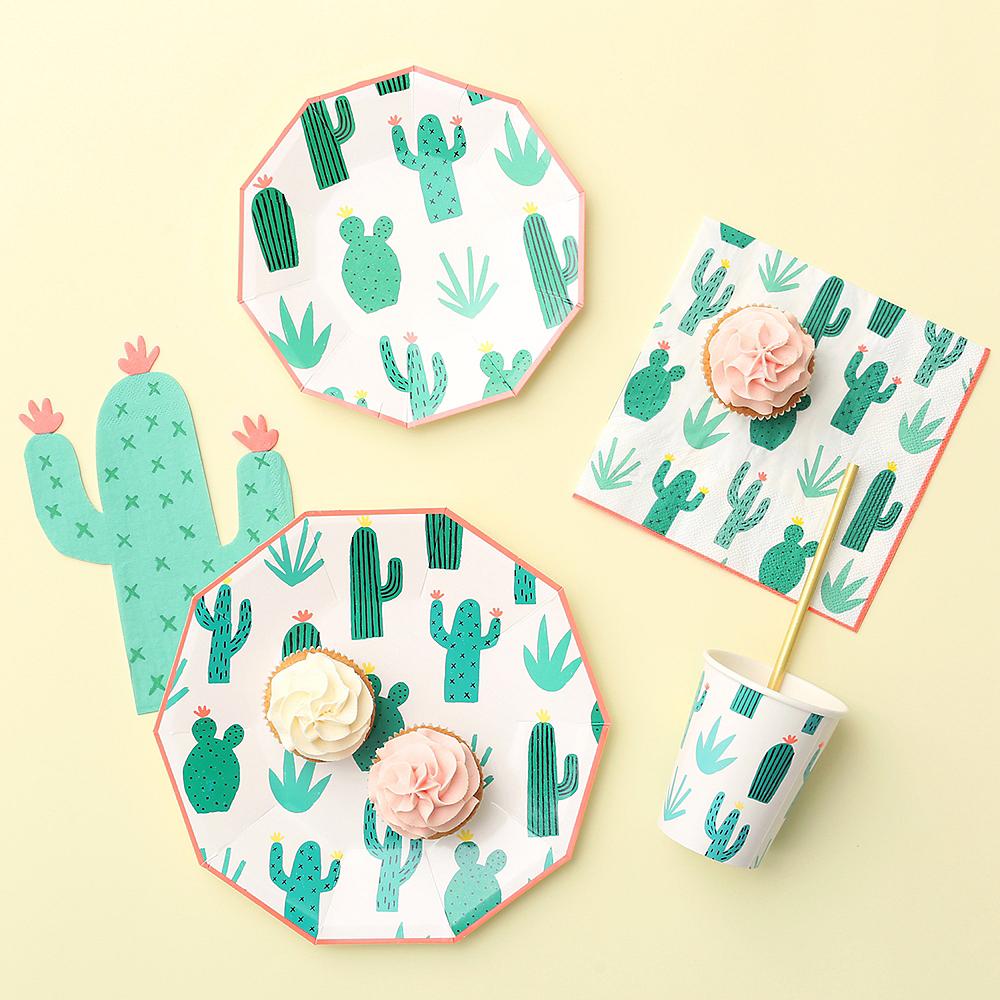 Cactus Garden Dinner Plates 12ct Image #2