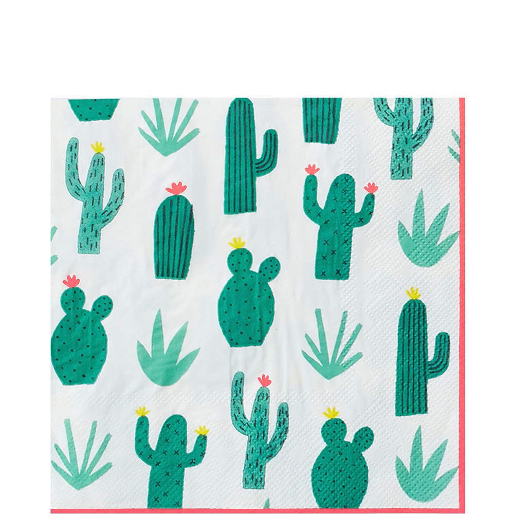 Cactus Garden Lunch Napkins 20ct Image #1