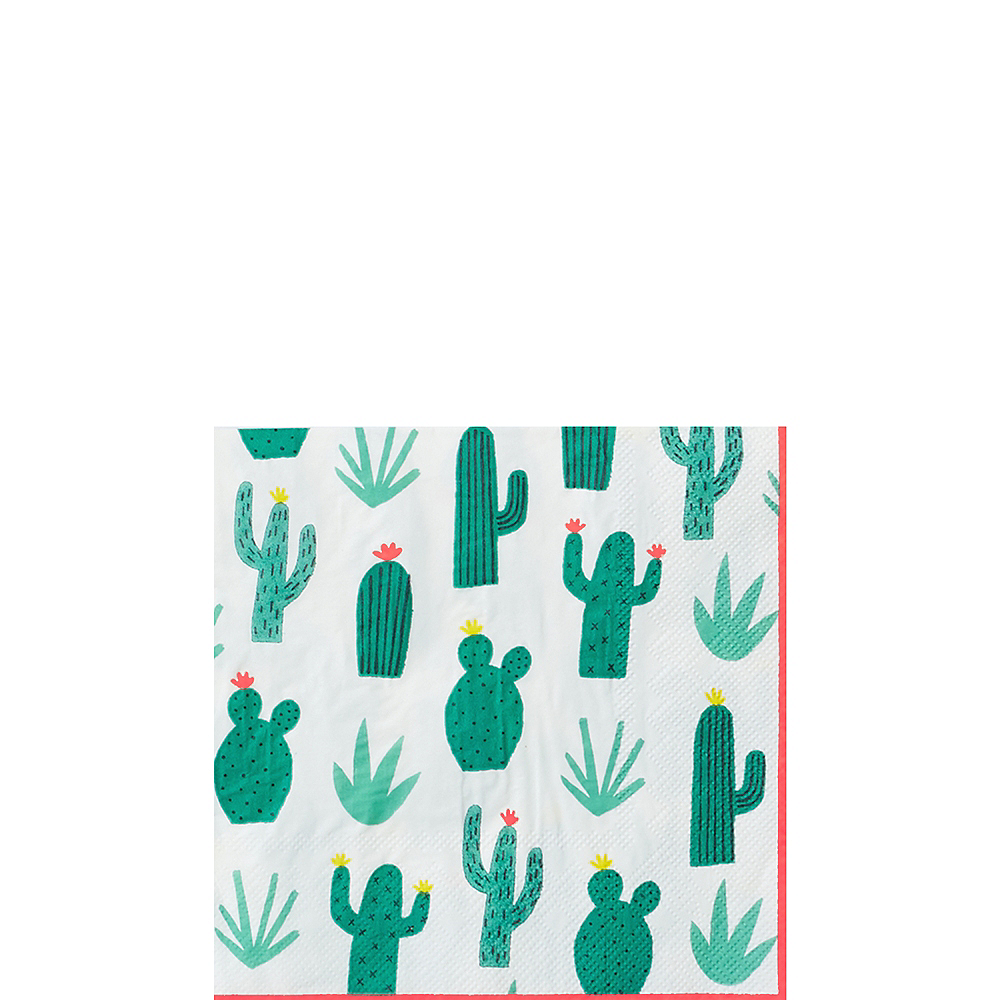 Nav Item for Cactus Garden Beverage Napkins 20ct Image #1