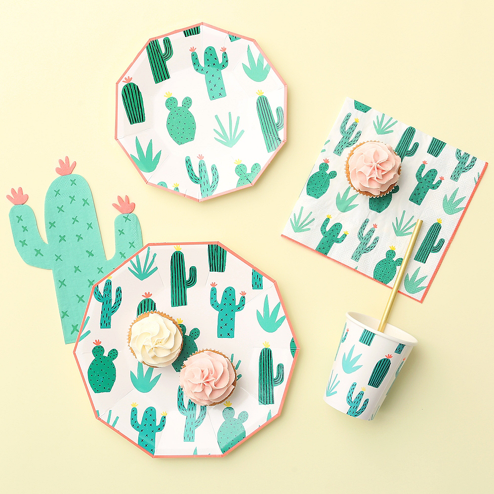 Nav Item for Cactus Garden Beverage Napkins 20ct Image #2