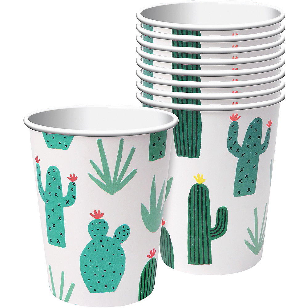 Cactus Garden Cups 12ct Image #1
