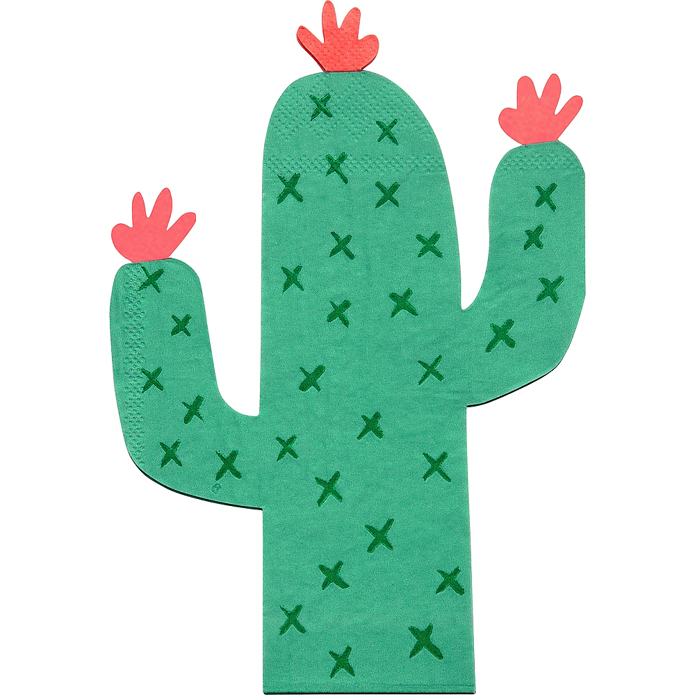Nav Item for Shaped Cactus Napkins 20ct Image #1