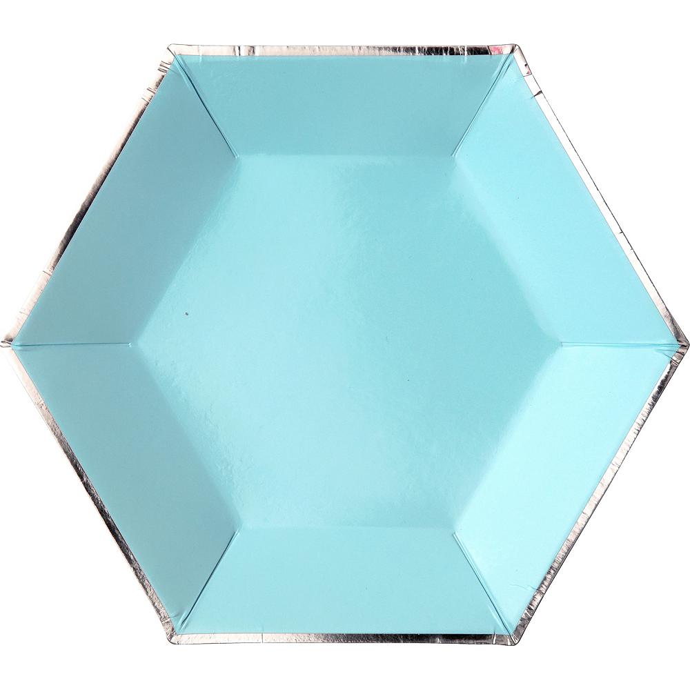 Shades of Blue Dessert Plates 8ct Image #4