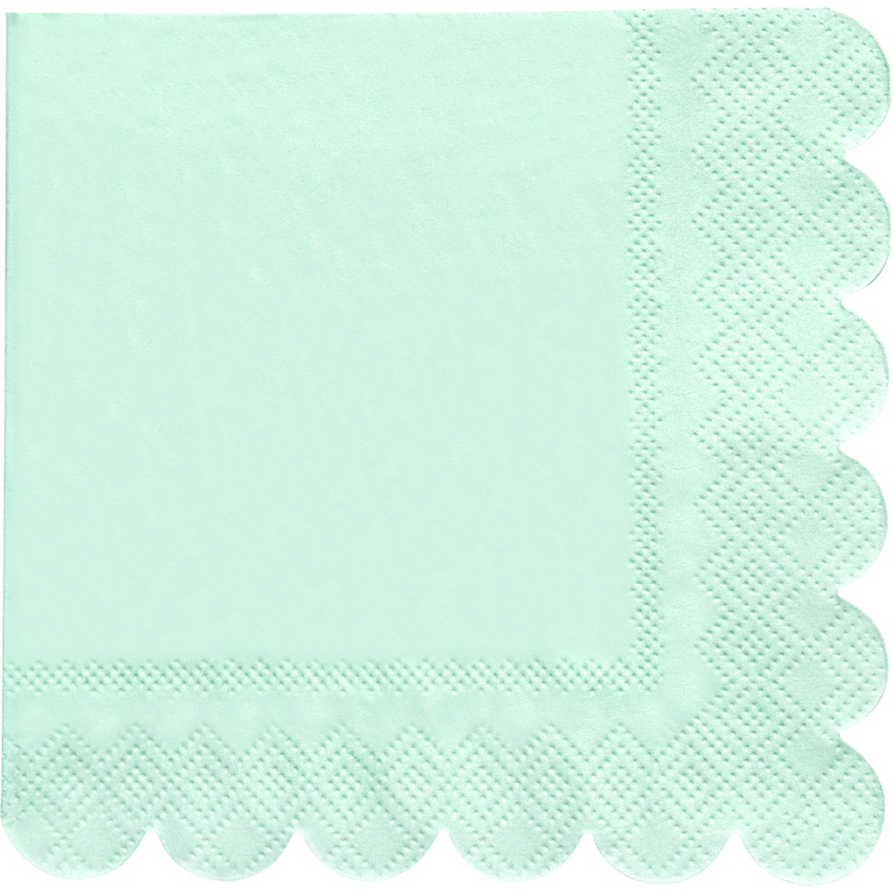 Shades of Blue Beverage Napkins 20ct Image #2
