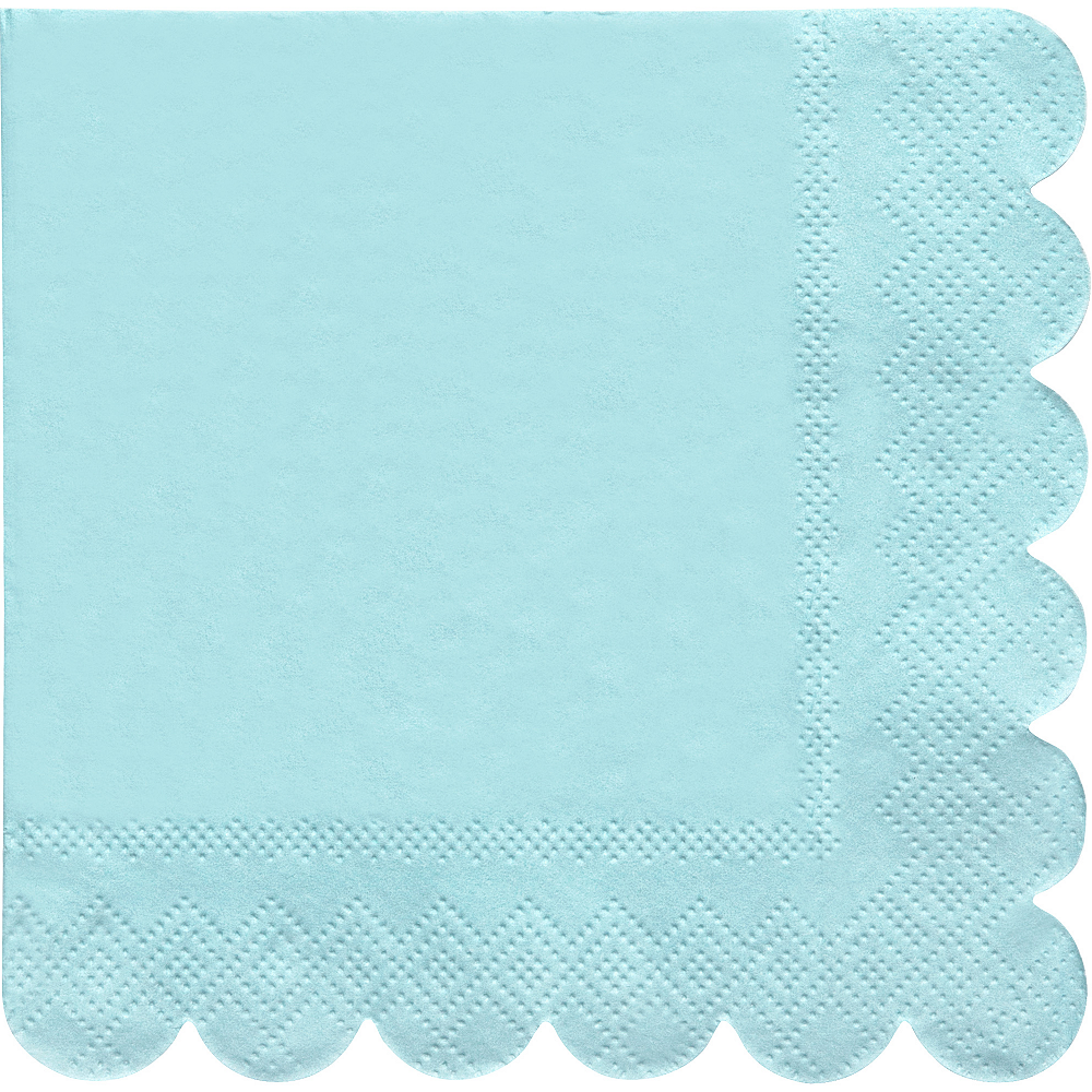 Shades of Blue Beverage Napkins 20ct Image #3