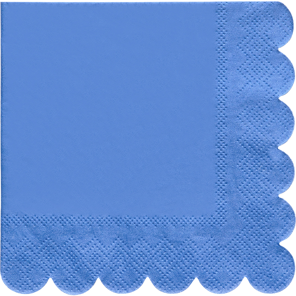 Shades of Blue Beverage Napkins 20ct Image #4