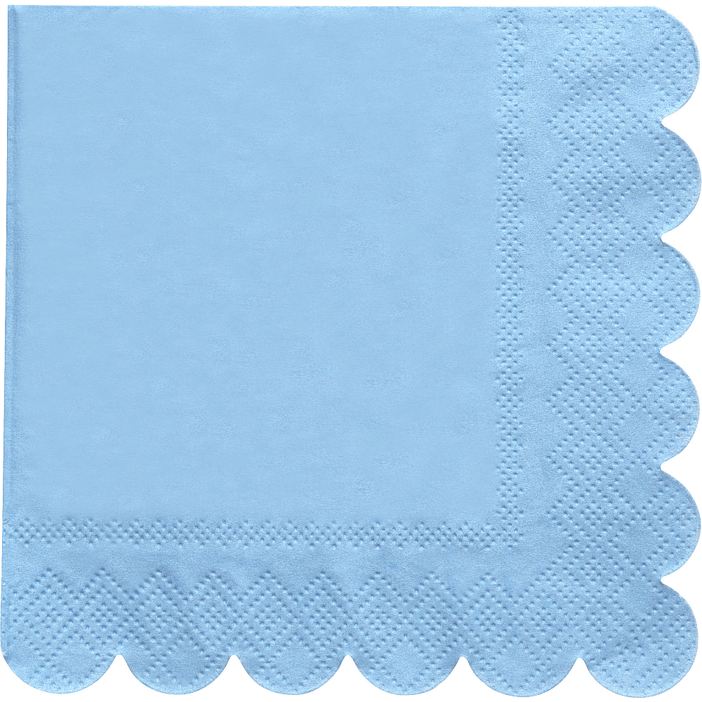 Shades of Blue Beverage Napkins 20ct Image #5