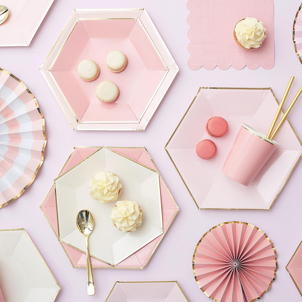 Shades of Pink Beverage Napkins 20ct Image #3