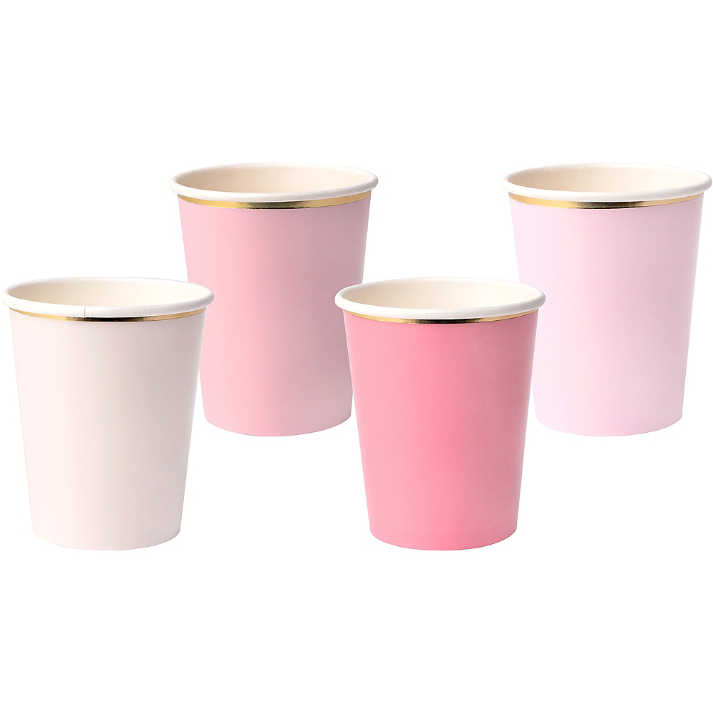 Shades of Pink Cups 8ct Image #1