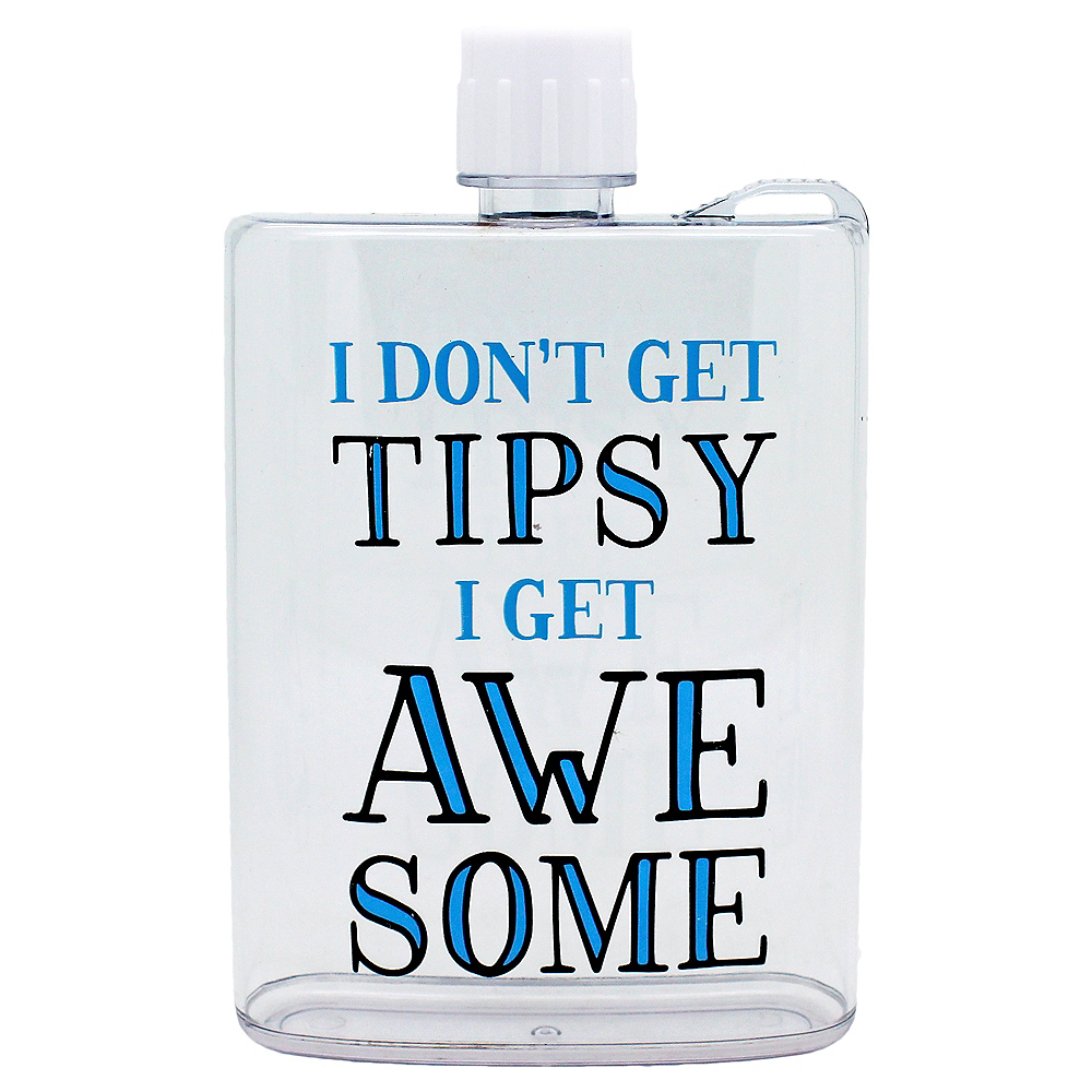 Nav Item for I Don't Get Tipsy I Get Awesome Flask Image #1