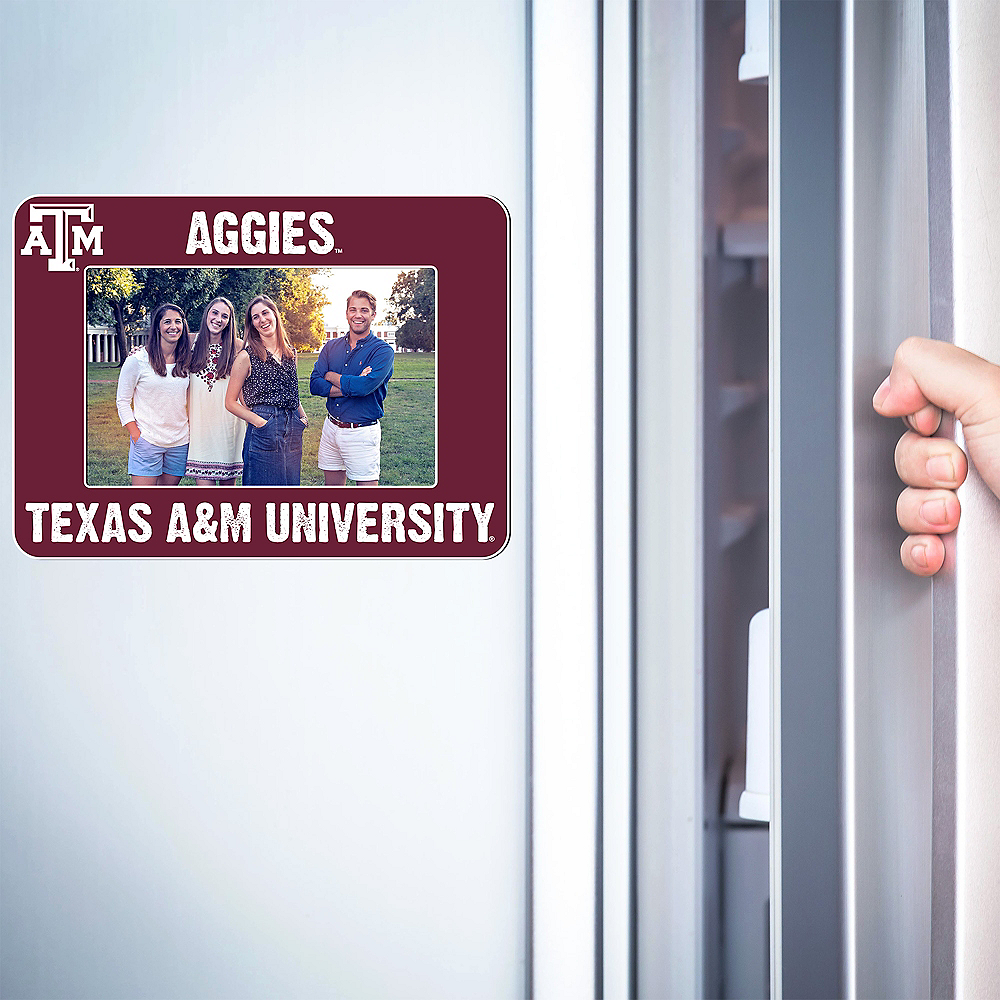 Texas A&M Aggies Magnetic Photo Frame Image #2