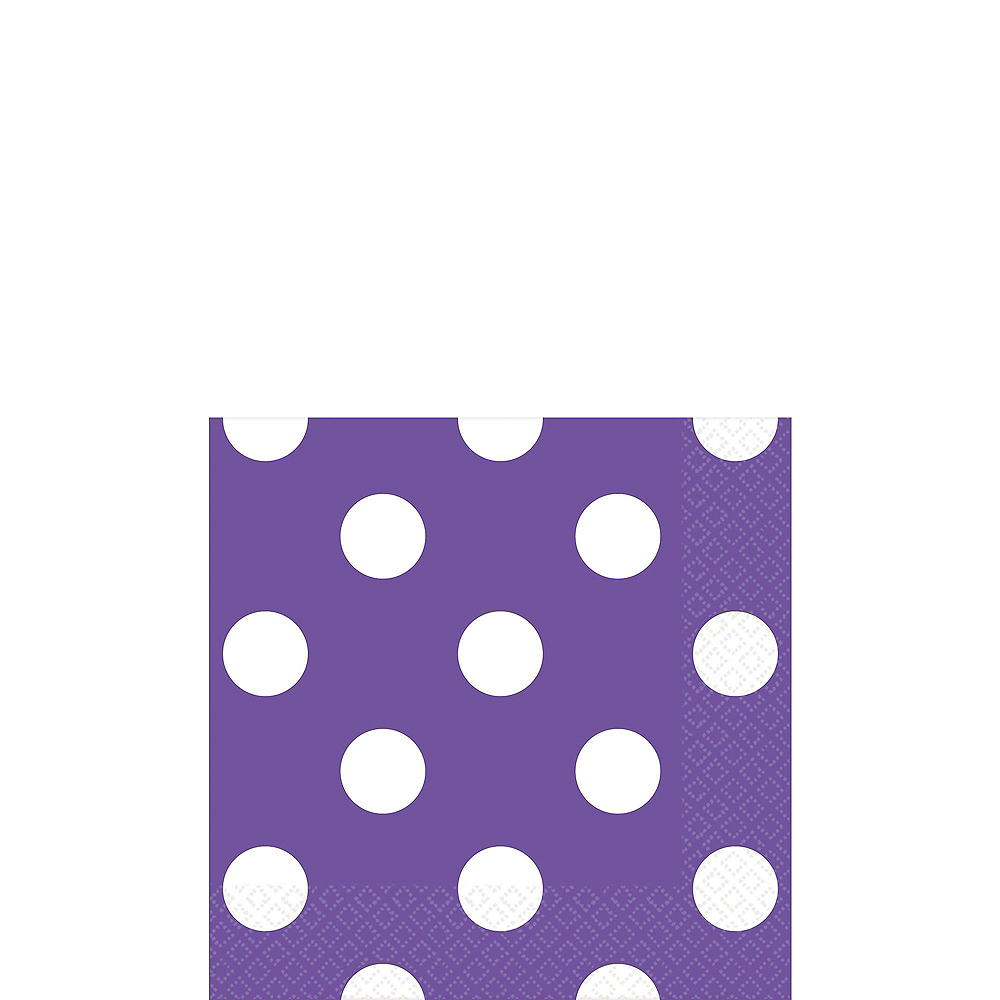 Lavender & Purple Tableware Kit for 16 Guests Image #2