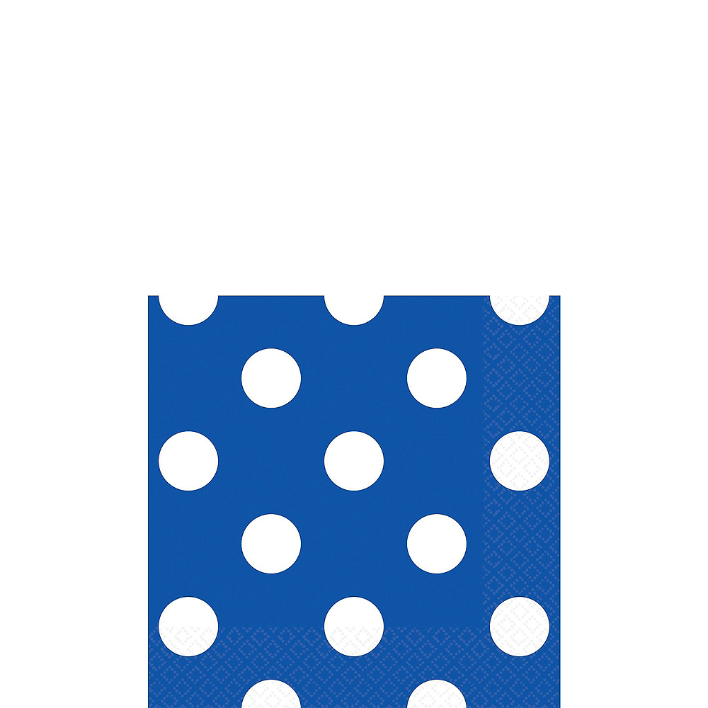 Caribbean Blue & Royal Blue Tableware Kit for 16 Guests Image #3
